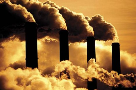 air pollution from coal fired power stations