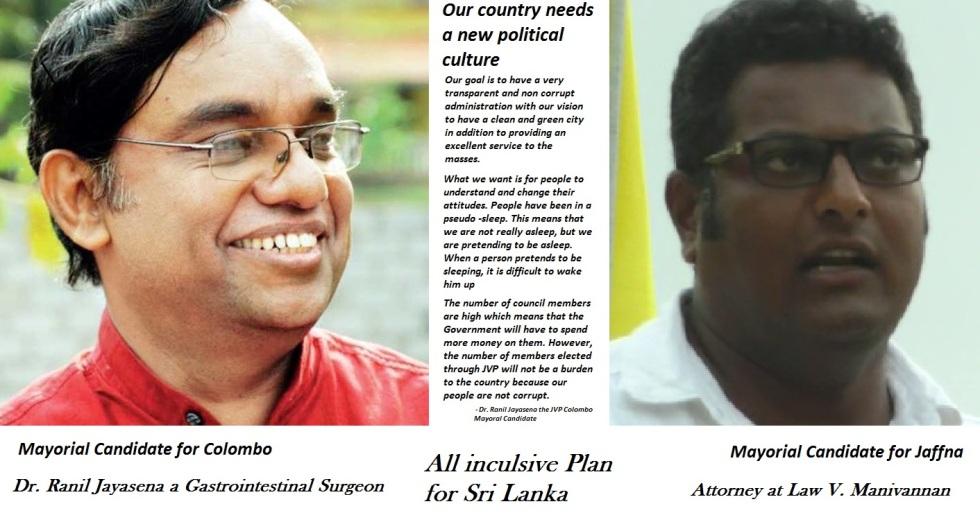 JVP Mayoral Candidate